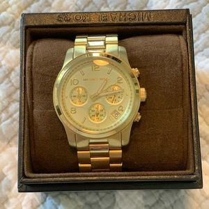 Michael Kors Bradshaw Gold Watch MK5866